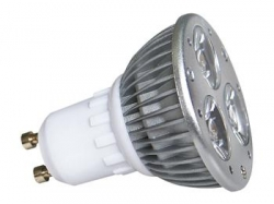 LED POWER GU10 3x1W-WW
